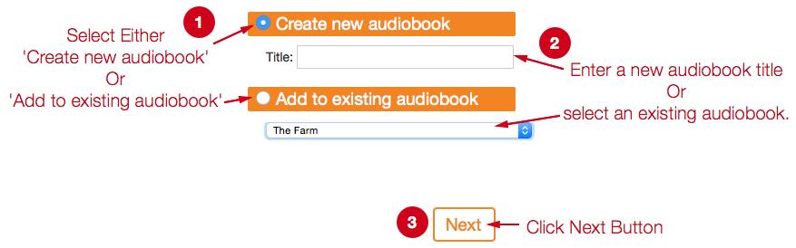 Bookmobile Audio Import Help