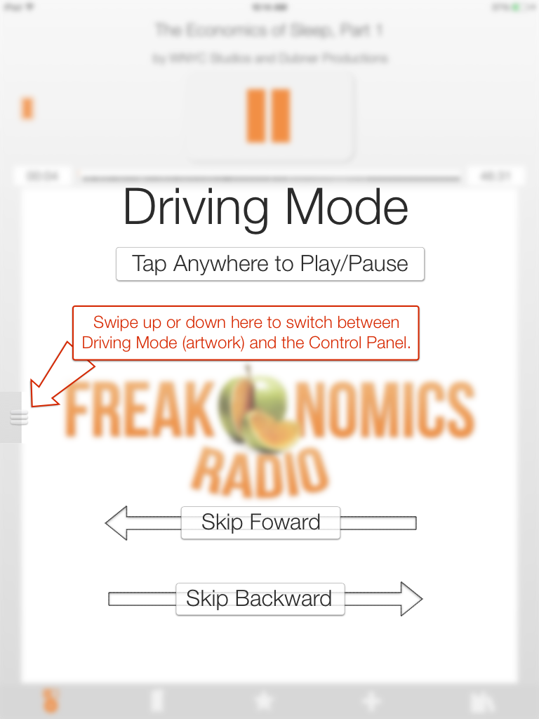 Bookmobile and Book Mower Navigation (iPad)